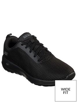 skechers-go-walk-joy-paradise-wide-fit-trainers-black