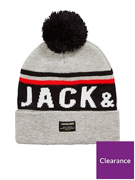 jack-jones-logo-tassle-hat