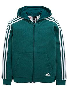 adidas-boys-3-stripe-full-zip-hood
