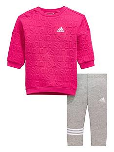 adidas-baby-girls-dress-and-legging-set