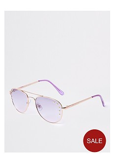 river-island-studded-aviator-rose-gold-lilac-lens