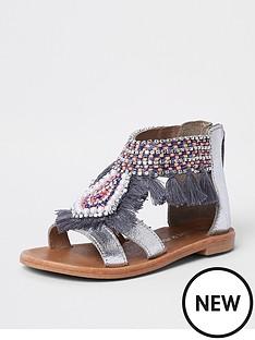 river-island-mini-girls-silver-fringe-embellished-sandals