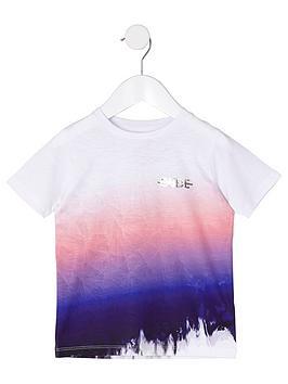 river-island-mini-boys-pink-lsquodudersquo-fade-t-shirt