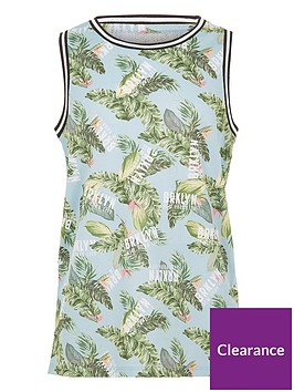 river-island-boys-blue-lsquobrklynrsquo-palm-vest-top