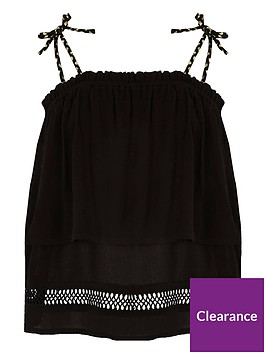 river-island-girls-black-double-layer-strap-cami-top