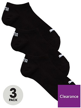 puma-pack-of-3-no-show-socks-black