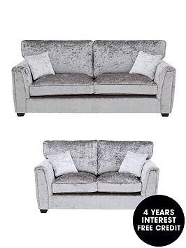 glitz-fabric-standard-back-3-seaternbsp-2-seater-sofa-set-buy-and-save