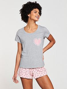 v-by-very-love-heart-short-amp-top-set-greypink