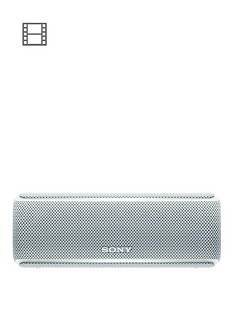 sony-srs-xb21-portable-wireless-waterproof-speaker-with-light-show-extra-bass-and-12-hour-battery-white