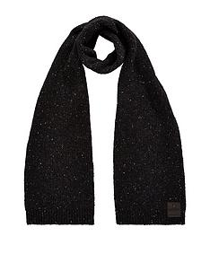 superdry-surplus-goods-tweed-scarf-black