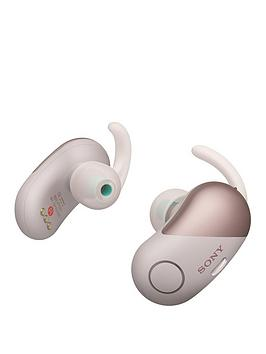 Sony Sony Wf-Sp700N Truly Wireless Sports Headphones With Noise Cancelling  ... Picture