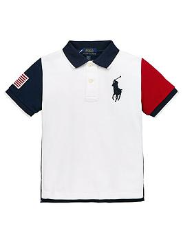 ralph-lauren-boys-short-sleeve-colourblock-polo-shirt-white