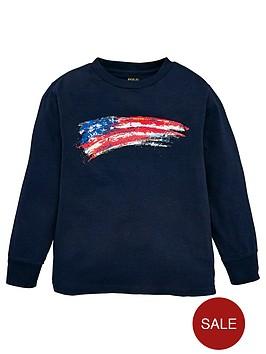ralph-lauren-boys-long-sleeve-flag-t-shirt-navy
