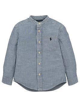 ralph-lauren-boys-long-sleeve-chambray-shirt-blue