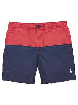ralph-lauren-boys-colourblock-polin-short-red