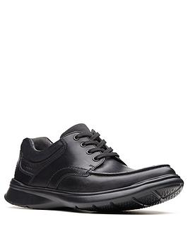 clarks-cotrell-edge-leather-lace-up-standard-fit-shoe-black-smooth