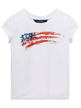 ralph-lauren-girls-short-sleeve-flag-t-shirt-white