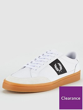 fred-perry-deuce-leather-suede-trainer