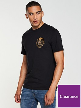 river-island-badge-detail-t-shirt