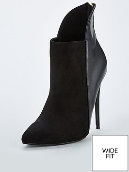 lost-ink-lost-ink-wide-fit-mimi-high-back-stilleto-ankle-boot