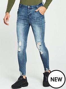 sik-silk-jagged-hem-jeans
