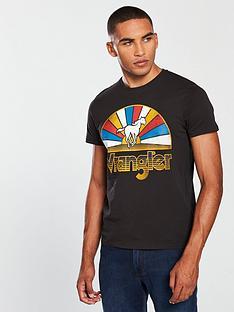 wrangler-horse-logo-t-shirt