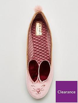 818026236306 ... Ted Baker Bhunni  Bunny  Ballerina Slipper - Rose. View larger