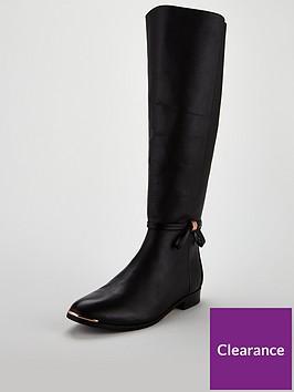 ted-baker-ted-baker-lyklanbspbow-knee-high-boot-black