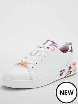 Ted Baker GIELLIP - Trainers - white/serenity