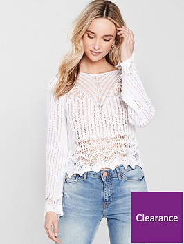 river-island-crochet-stitch-top-white