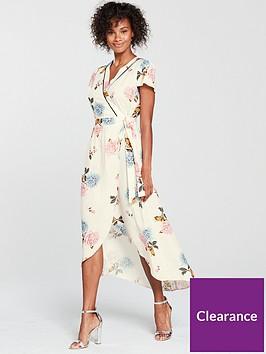 miss-selfridge-floral-wrap-midi-dress