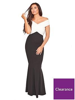 jessica-wright-cassilanbspcrossover-maxi-dress-blackwhite