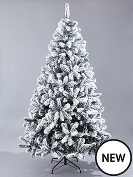 8ft-flocked-emperor-tree-with-metal-stand