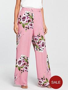 vila-vila-birdo-floral-printed-high-waisted-pant
