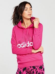 adidas-essentials-linear-hoodienbsp--magentanbsp
