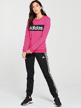 adidas-chillout-tracksuit--pinkblacknbsp