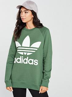 adidas-originals-oversized-sweat-greennbsp