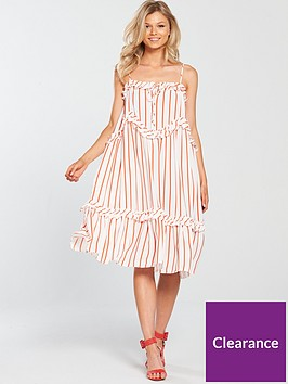 v-by-very-petite-stripe-swing-cami-dress-printednbsp