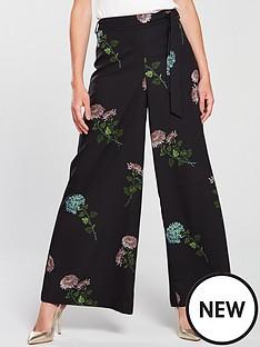 oasis-natural-history-museum-floral-print-wide-leg-trouser-floral-print