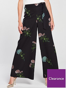 oasis-natural-history-museum-floral-print-wide-leg-trouser-floral-print