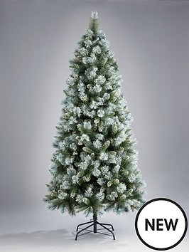 6ft-blue-green-cashmere-christmas-tree-with-white-frosted-tips