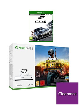 xbox-one-s-playerunknowns-battlegrounds-1tb-console-withnbspforza-motorsports-7-and-optional-extras