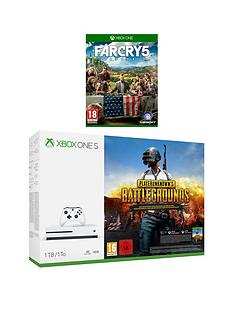 xbox-one-s-xbox-one-s-1tb-console-plus-playerunknown039s-battlegrounds-far-cry-5-wireless-controller-and-12-months-live