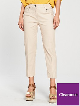 wallis-cotton-stretch-crop-trouser-stone