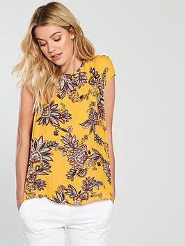wallis-spiced-paisley-border-shell-top-yellow