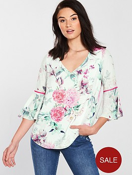 wallis-garden-party-blouse-ivorynbsp
