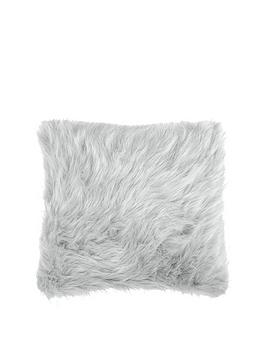 Catherine Lansfield Catherine Lansfield Metallic Faux Fur Cushion Picture