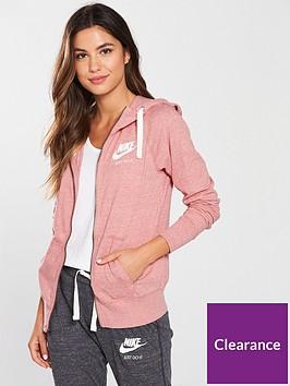 nike-sportswear-gym-vintagenbspfull-zip-hoodienbsp--pinknbsp