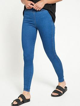 V by Very V By Very High Waist Jegging - Mid Wash Picture
