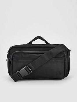 fred-perry-twin-tipped-cross-body-bag-black